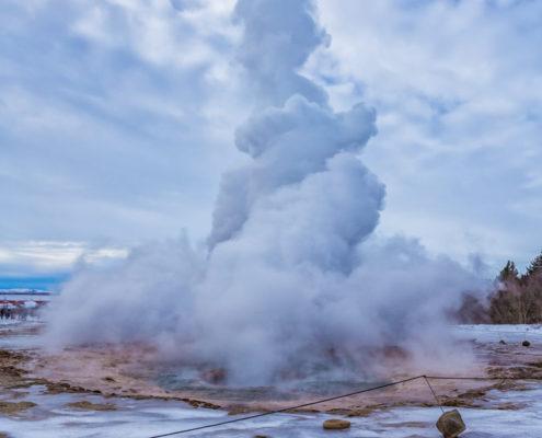 IJsland - Strokkur Geiser | Tux Photography