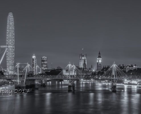 Foto's Londen - London Eye, Big Ben en Palace of Westminster   Tux Photography