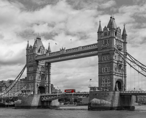 Foto's Londen - Tower Bridge zwart-wit | Tux Photography