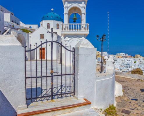 Foto's Santorini - Kerk in Imerovigli