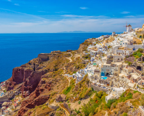 Foto's Santorini - Oia by Day