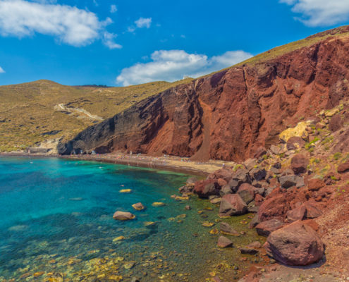 Foto's Santorini - Red Beach, Akrotiri