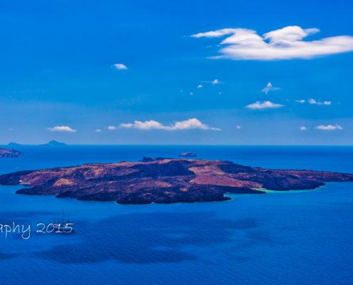 Foto's Santorini - Uitzicht vanuit Firostefani