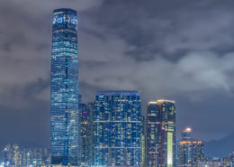 Hong Kong Skyline foto