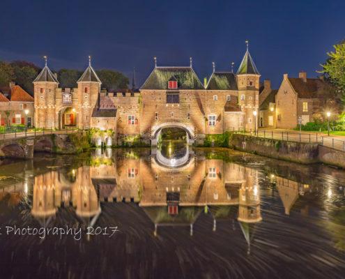 Avondfoto's - Amersfoort, Koppelpoort by Night | Tux Photography