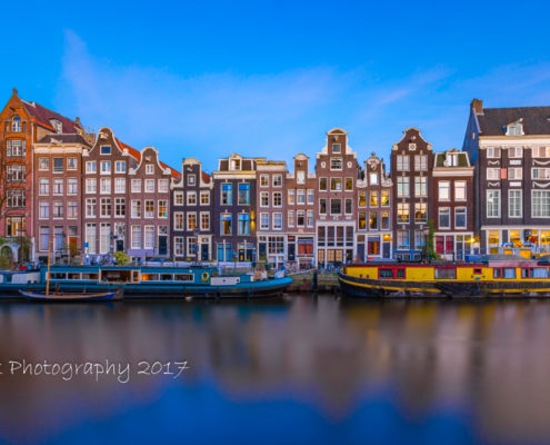 Foto's Amsterdam - Singel by Night | Tux Photography