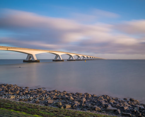 Foto's Zeelandbrug - Zeelandbrug in de morgen | Tux Photography