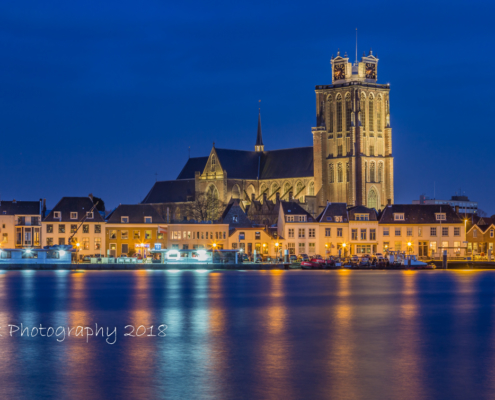 Foto's Dordrecht - Skyline van Dordrecht met de Grote Kerk | Tux Photography
