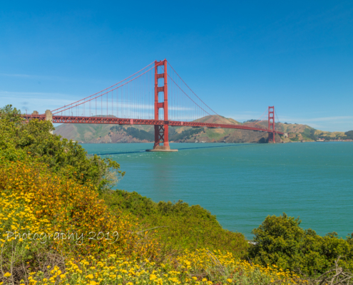 Foto's San Francisco - Golden Gate Bridge