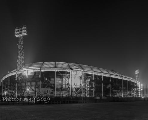 Feyenoord stadion De Kuip by Night